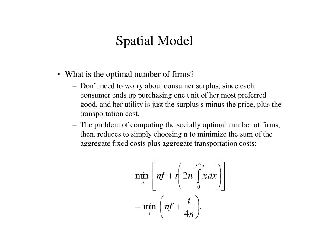 Spatial Model