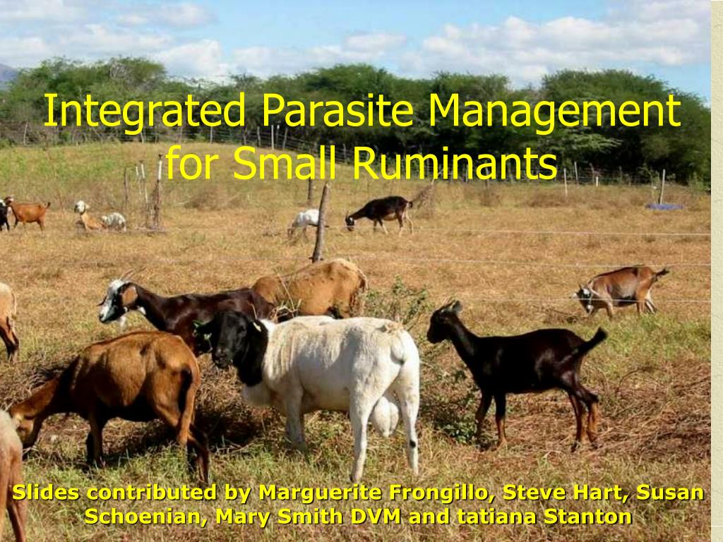 Integrated Parasite Management