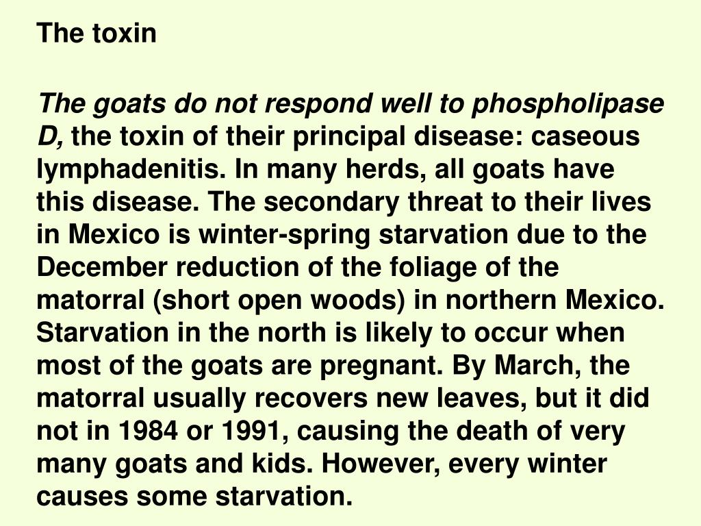 The toxin