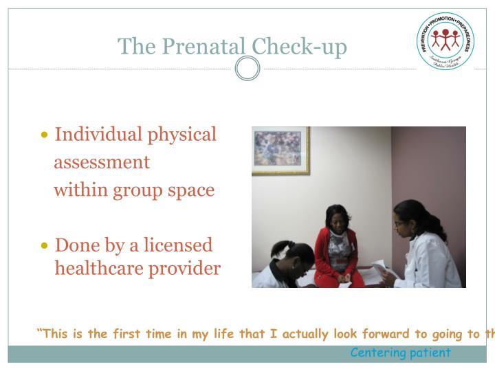 The Prenatal Check-up