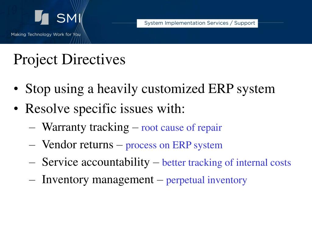 Project Directives