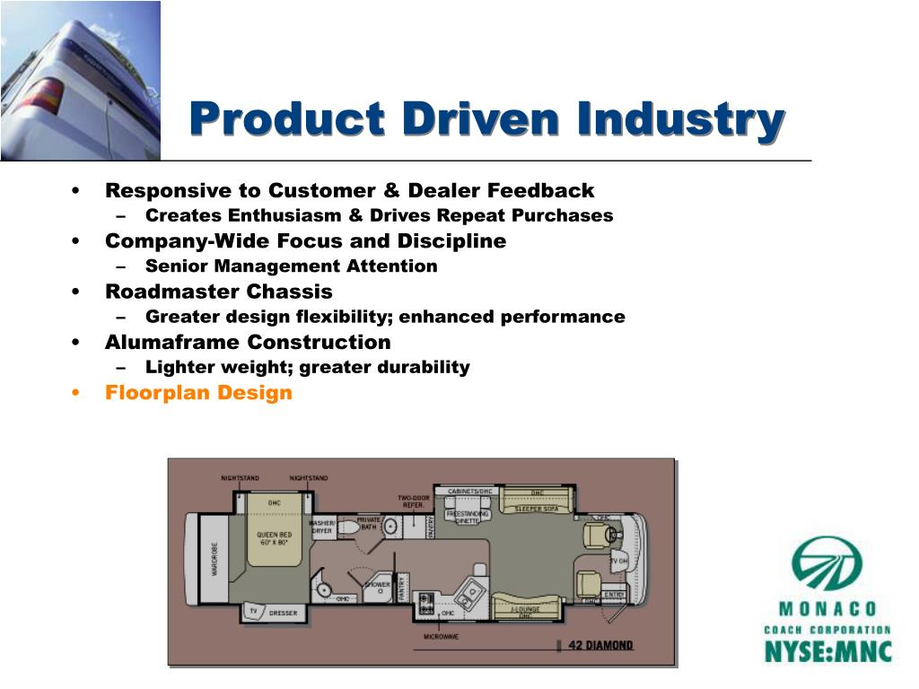 Product Driven Industry