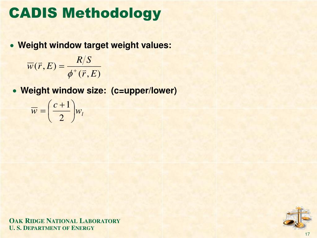 CADIS Methodology
