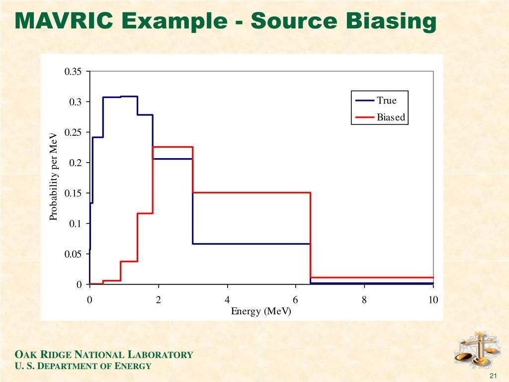 MAVRIC Example - Source Biasing