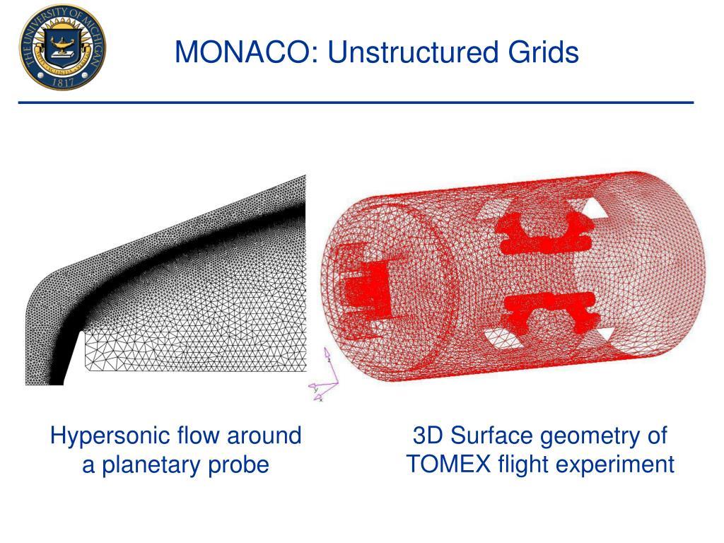 MONACO: Unstructured Grids