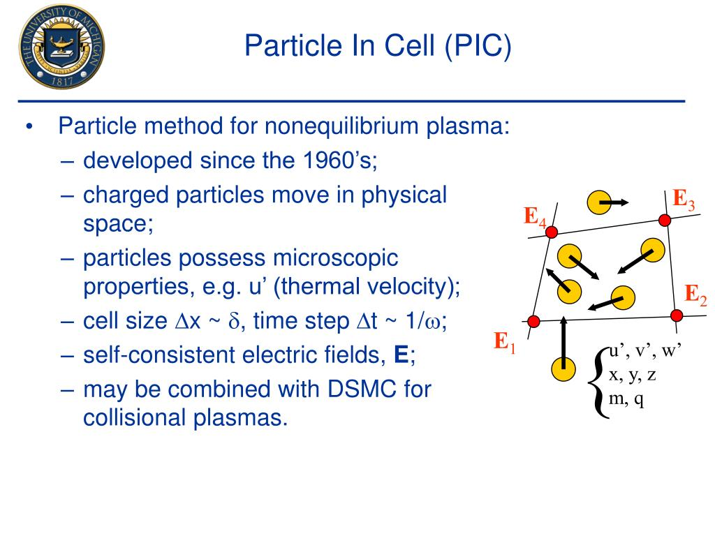 Particle In Cell (PIC)