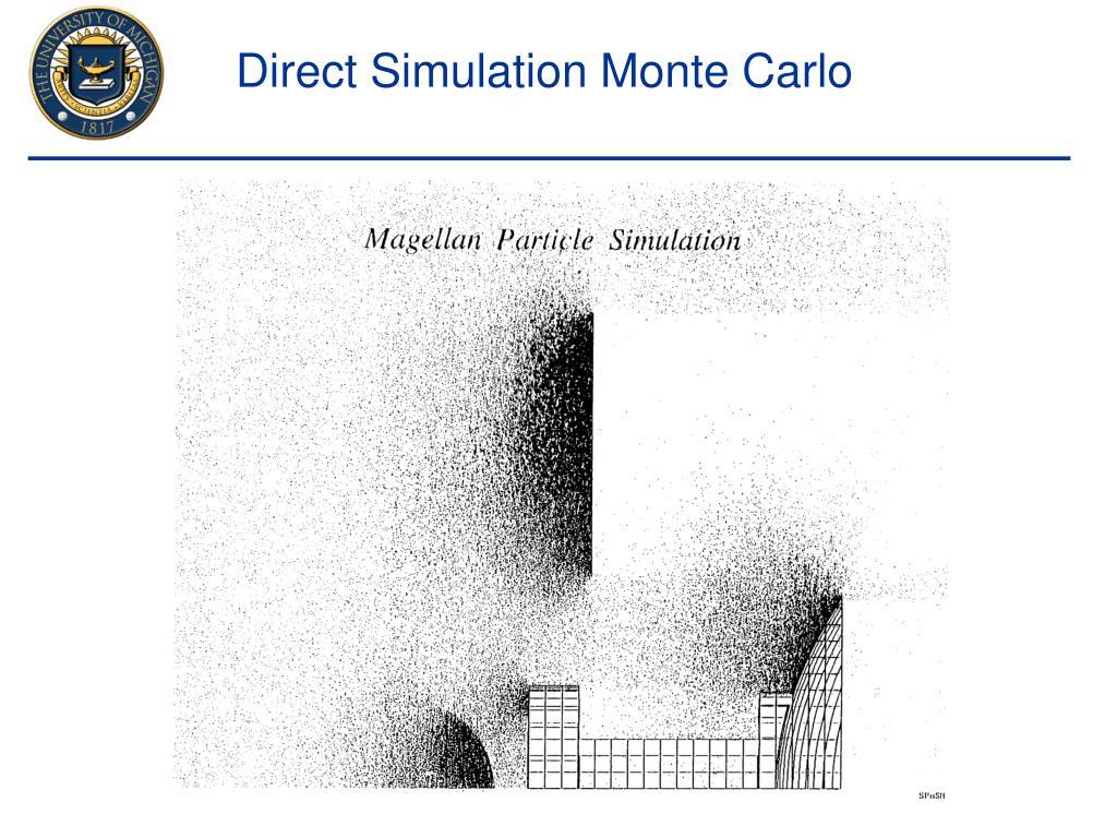 Direct Simulation Monte Carlo