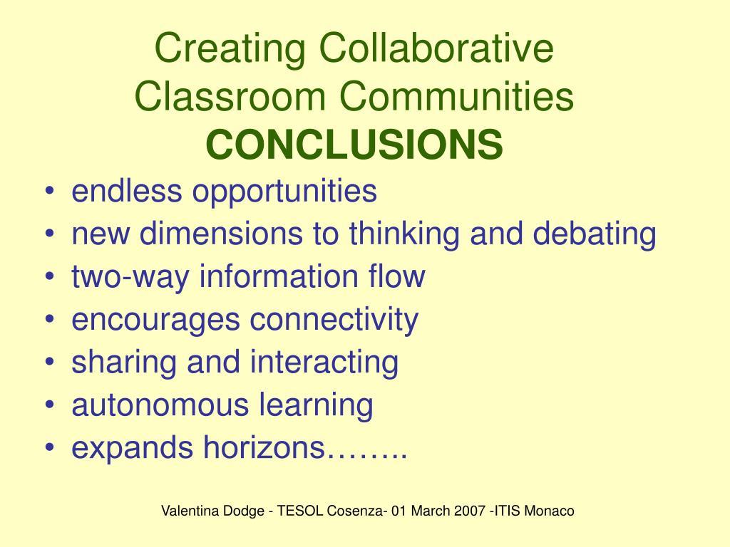 Creating Collaborative