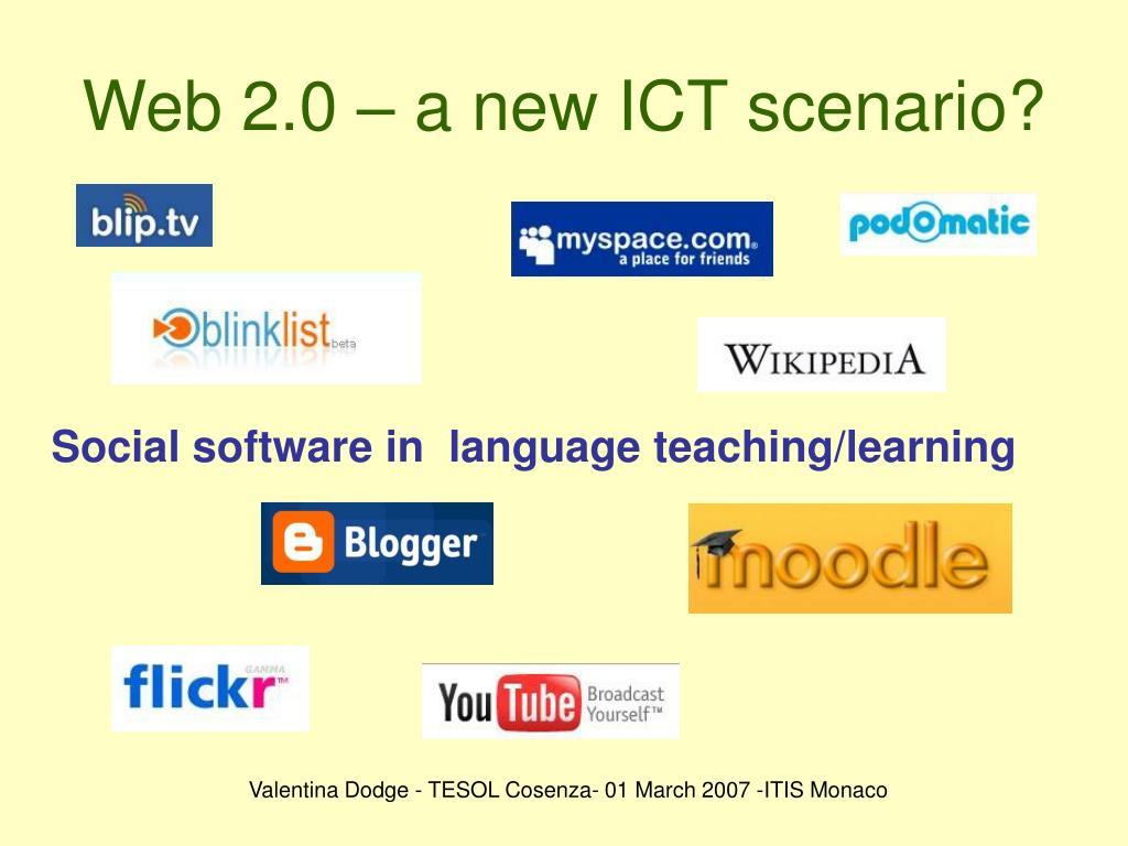 Web 2.0 – a new ICT scenario?