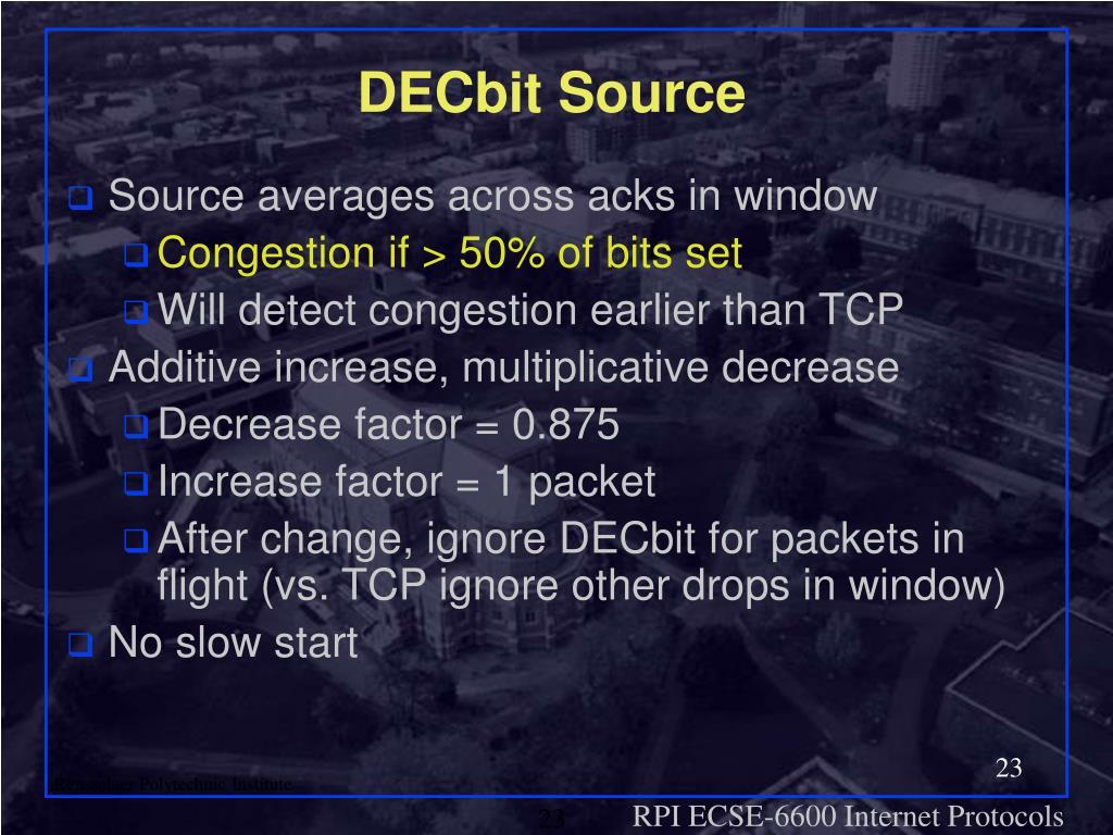 DECbit Source