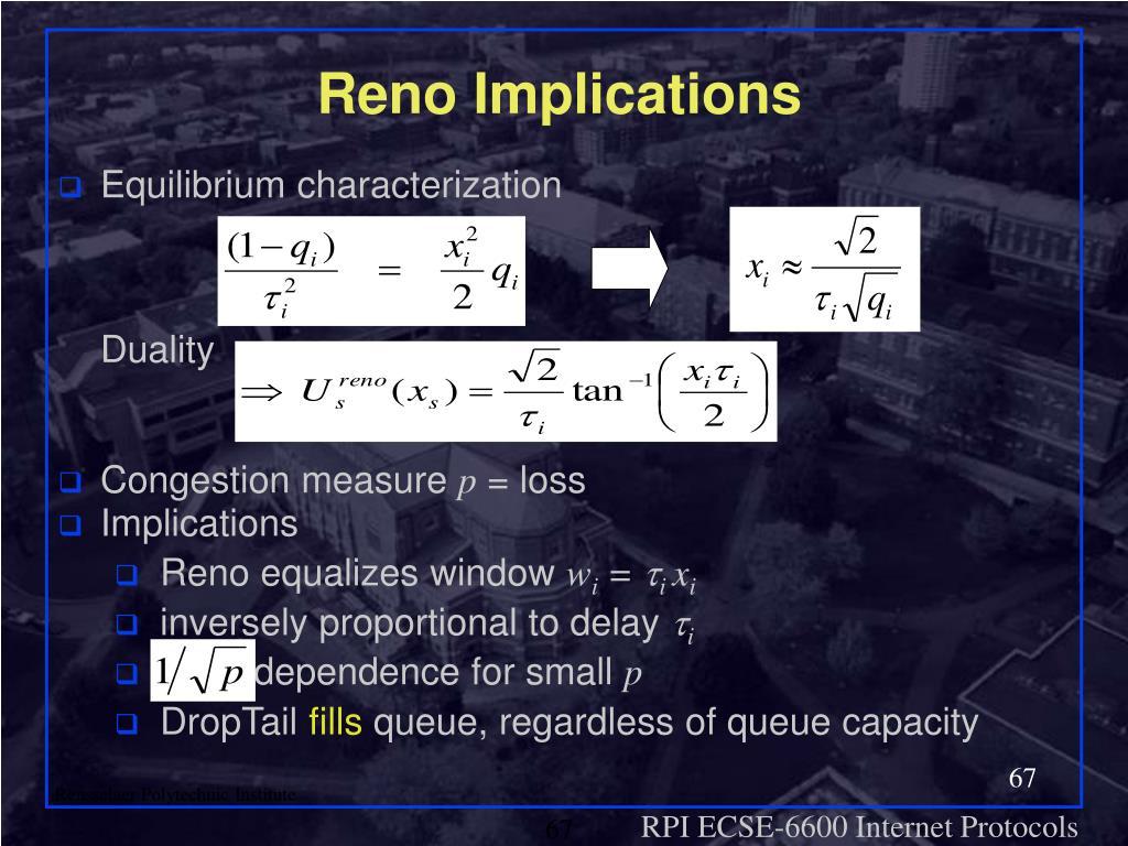 Reno Implications