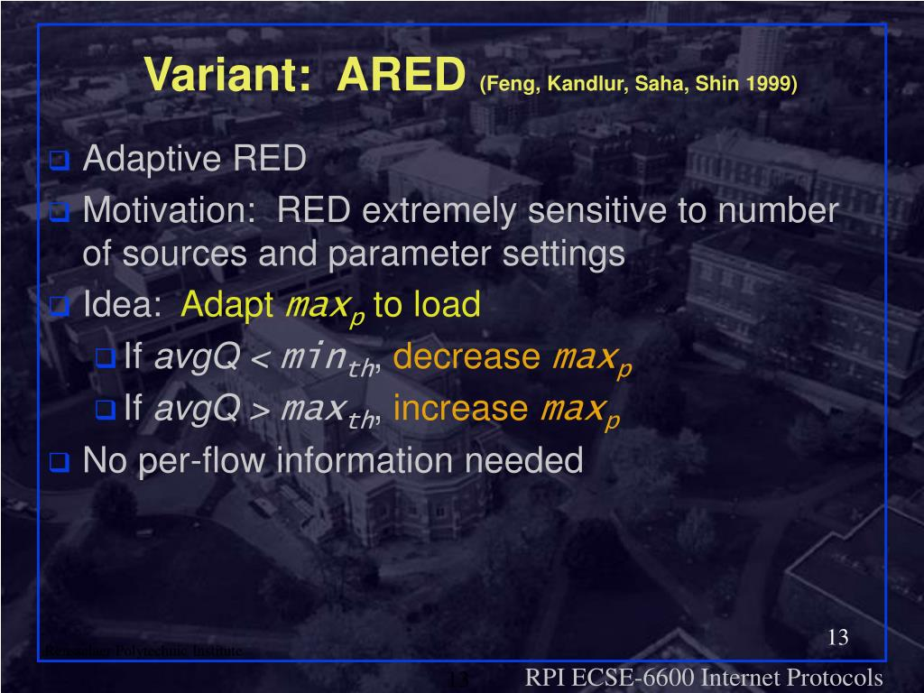 Variant:  ARED