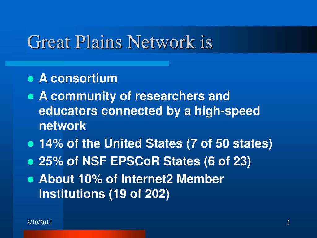 Great Plains Network is