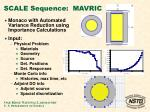 scale sequence mavric7