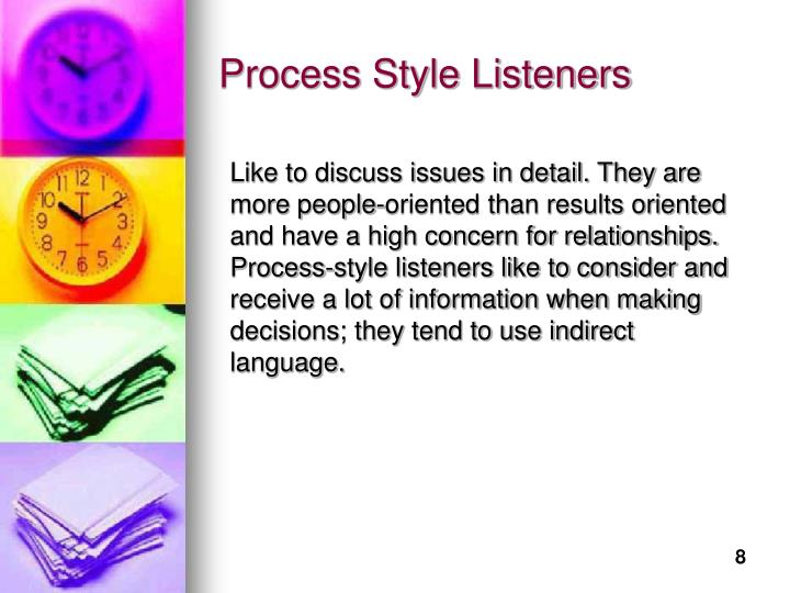 Process Style Listeners