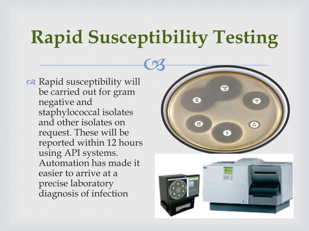 Rapid Susceptibility Testing