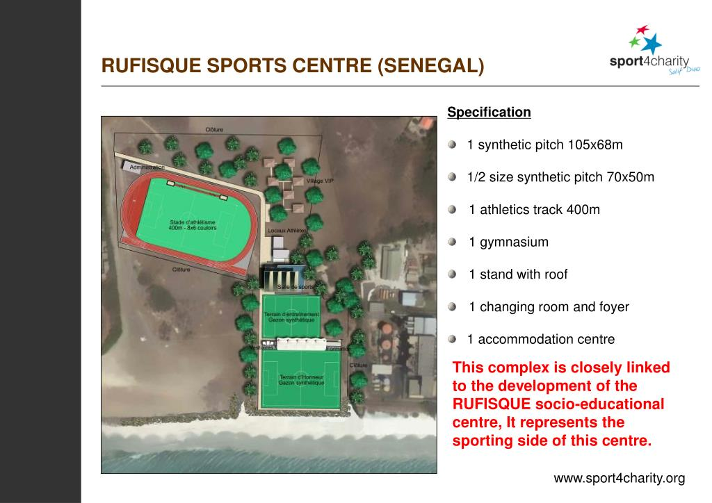 RUFISQUE SPORTS CENTRE (SENEGAL)