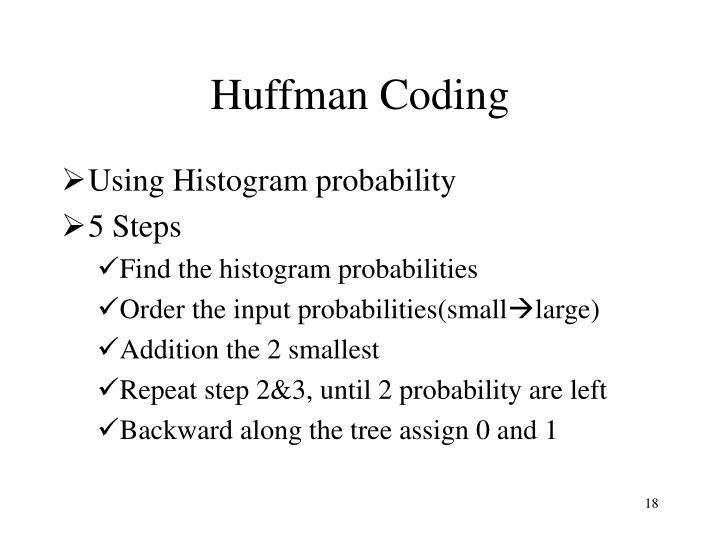 Huffman Coding