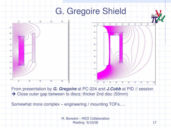 G. Gregoire Shield