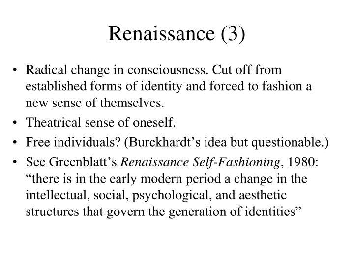 Renaissance (3)