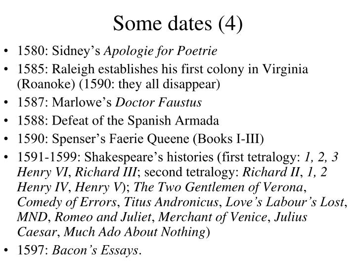 Some dates (4)