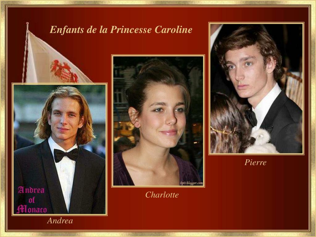 Enfants de la Princesse Caroline