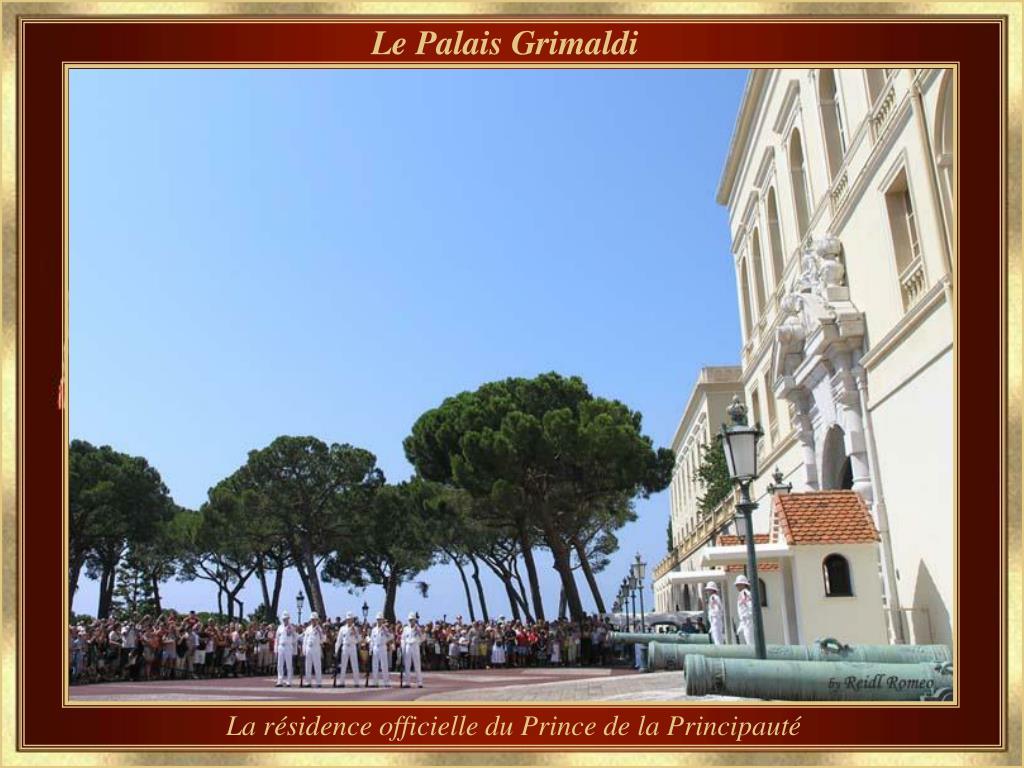 Le Palais Grimaldi