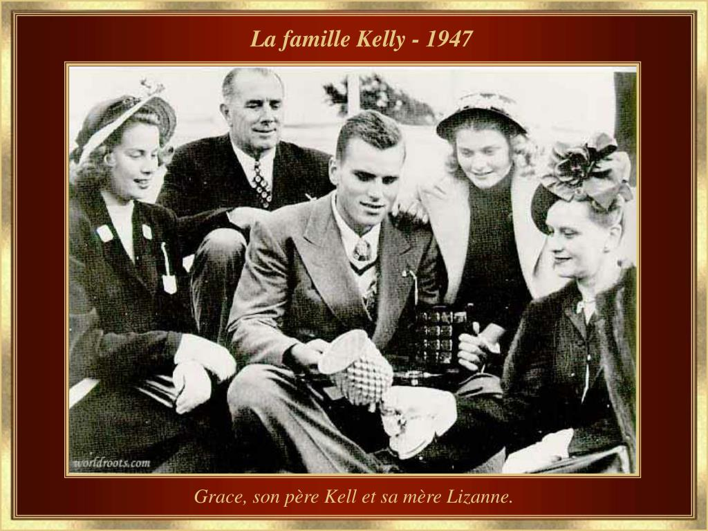 La famille Kelly - 1947