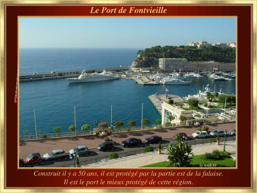 Le Port de Fontvieille