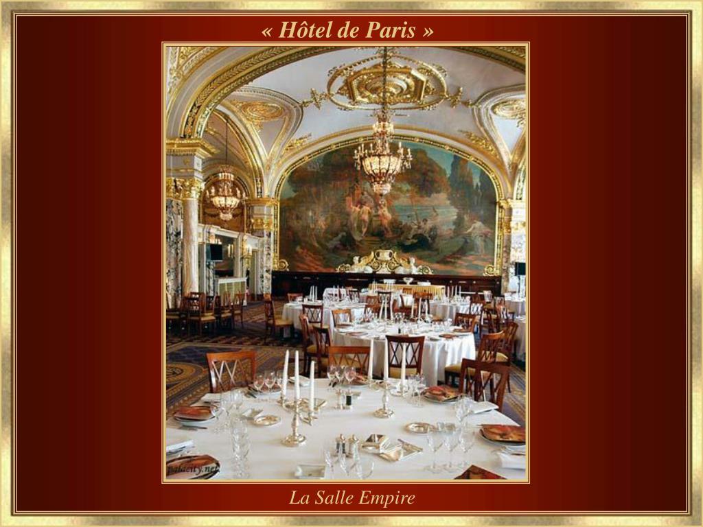 « Hôtel de Paris »