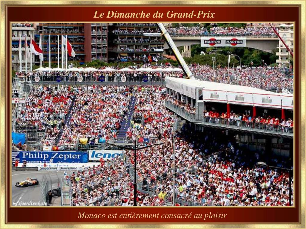 Le Dimanche du Grand-Prix