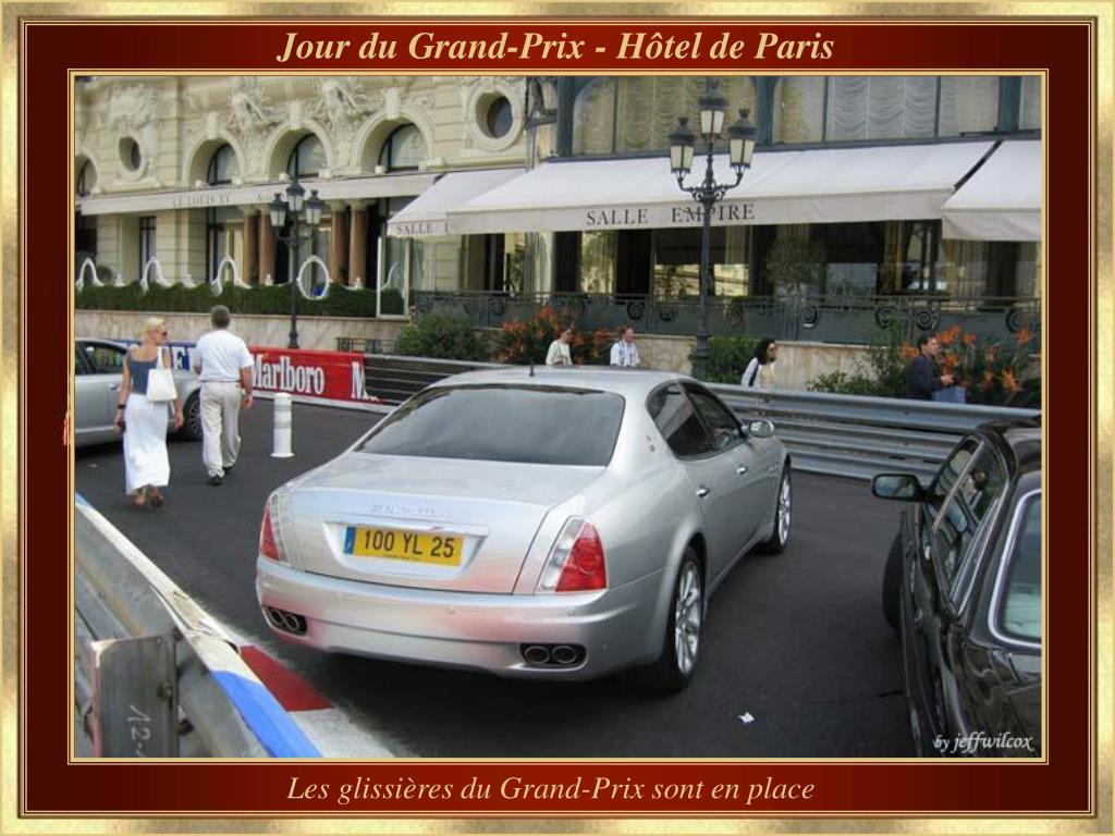 Jour du Grand-Prix - Hôtel de Paris