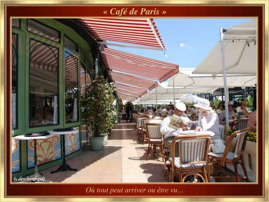 « Café de Paris »