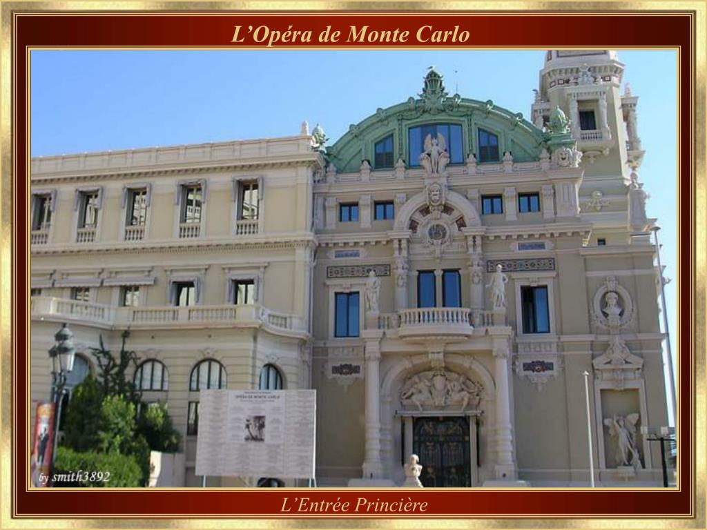 L'Opéra de Monte Carlo