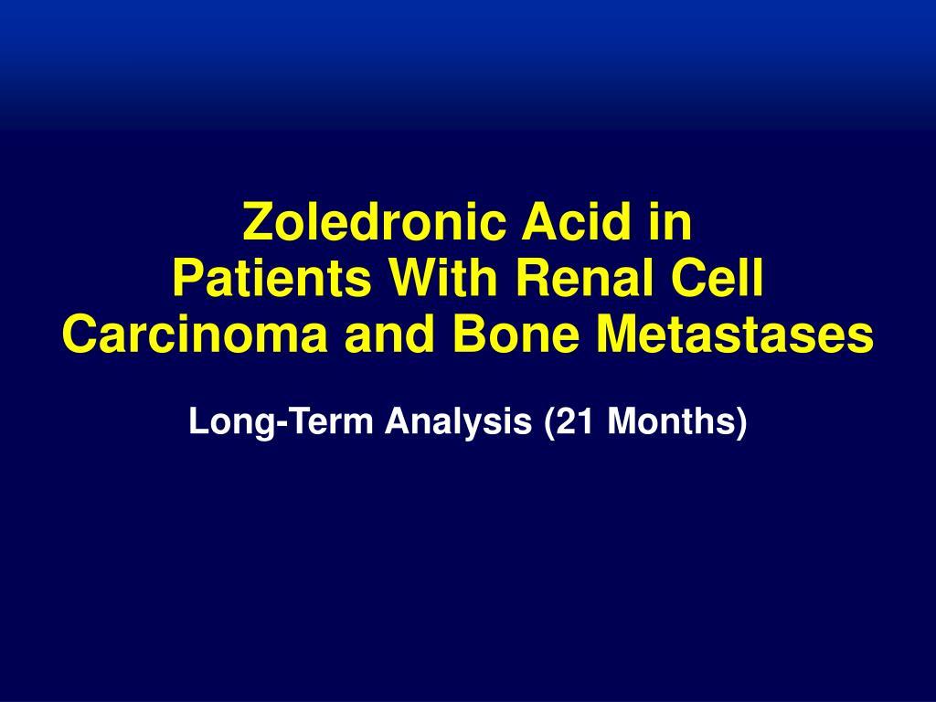 Zoledronic Acid in