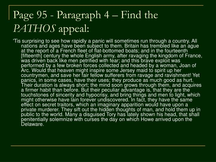 Page 95 - Paragraph 4 – Find the