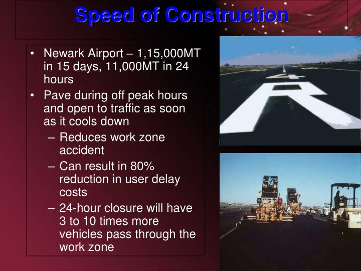 Newark Airport – 1,15,000MT in 15 days, 11,000MT in 24 hours