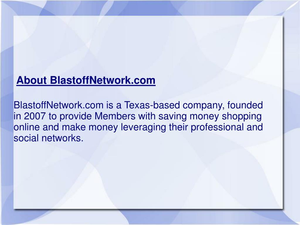 About BlastoffNetwork.com