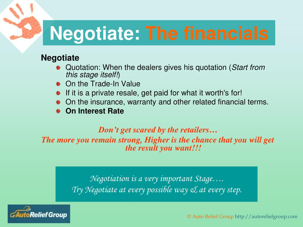 Negotiate: