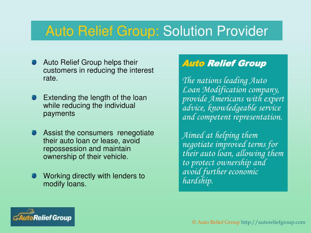 Auto Relief Group: