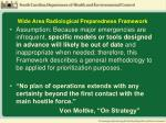 wide area radiological preparedness framework1