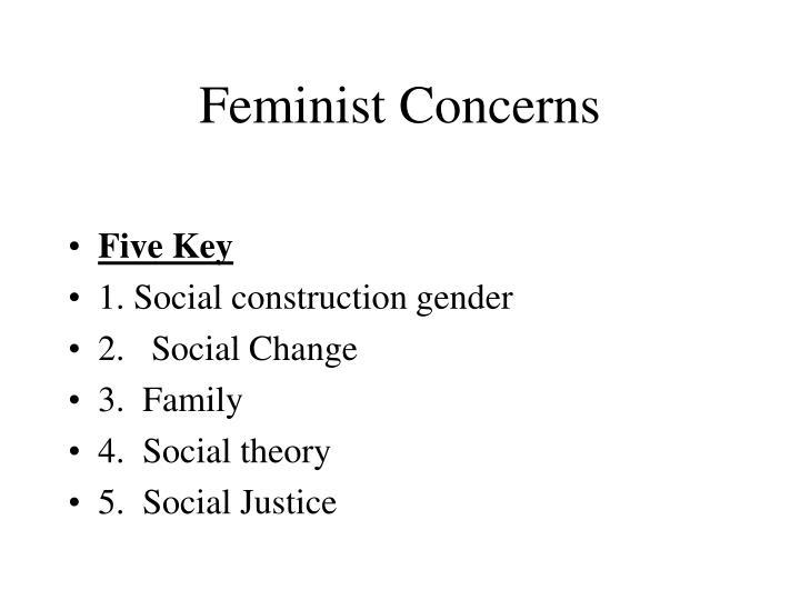 Feminist Concerns