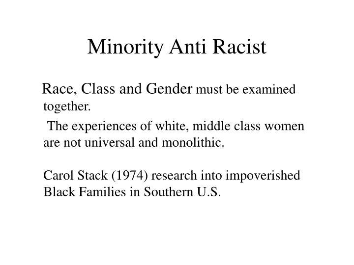 Minority Anti Racist
