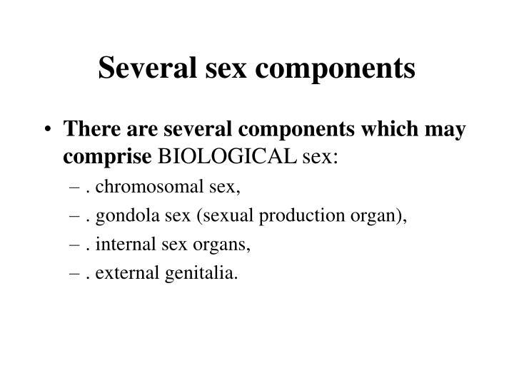 Several sex components