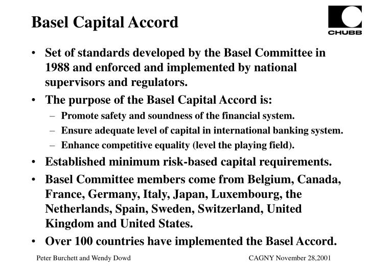 Basel Capital Accord