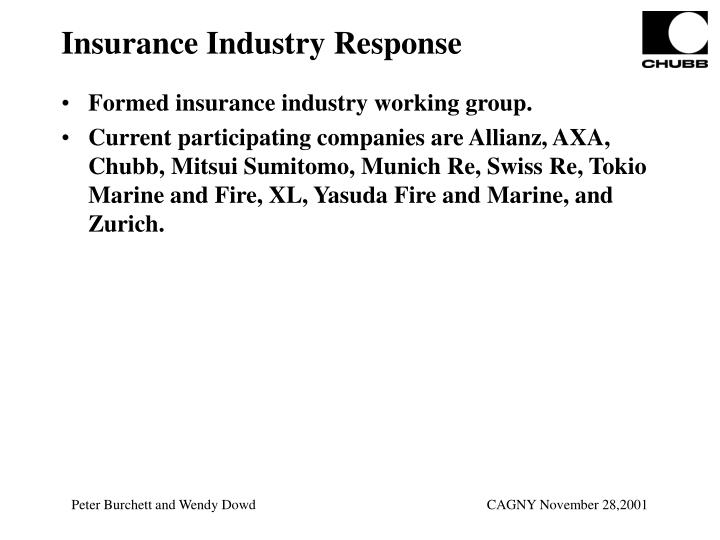 Insurance Industry Response