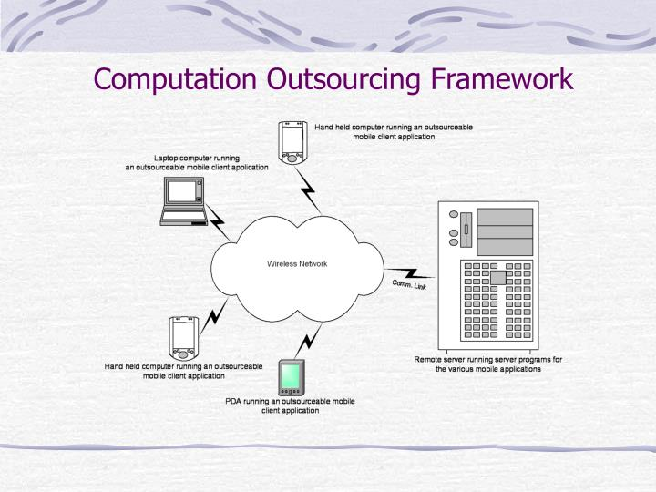 Computation Outsourcing Framework