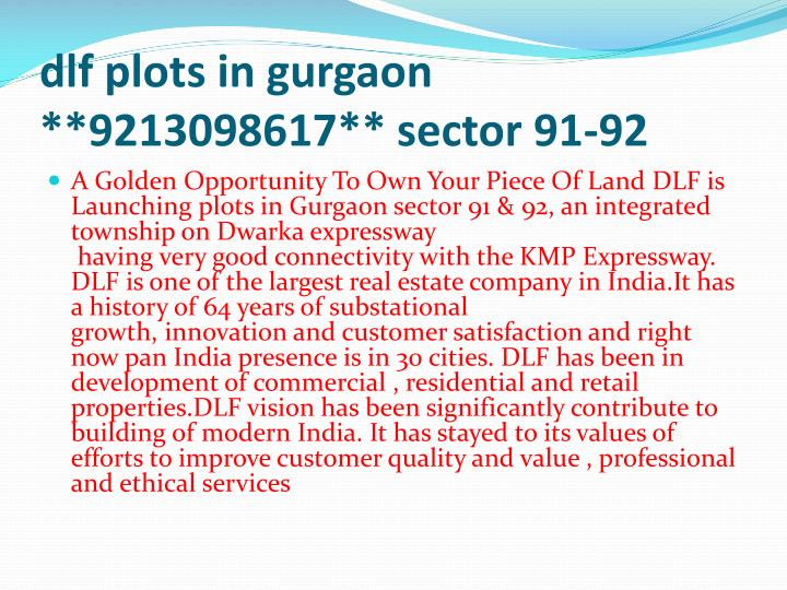 Dlf plots in gurgaon 9213098617 sector 91 922 l.jpg