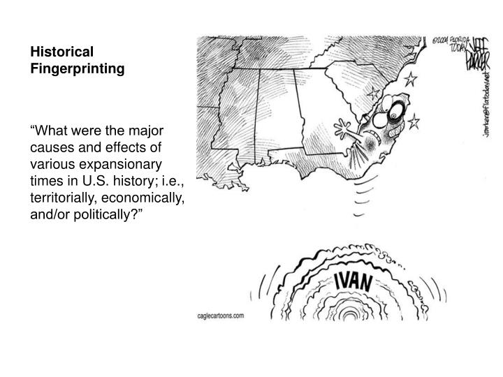 Historical Fingerprinting