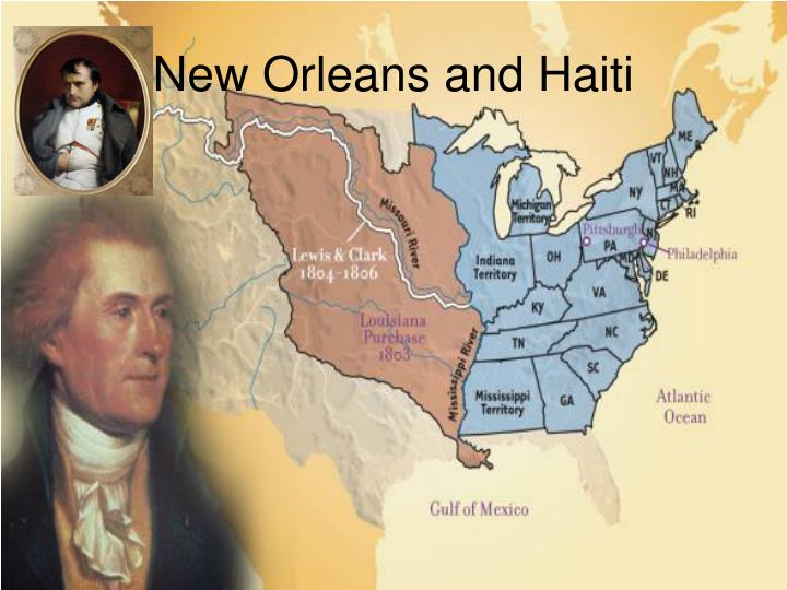 New Orleans and Haiti